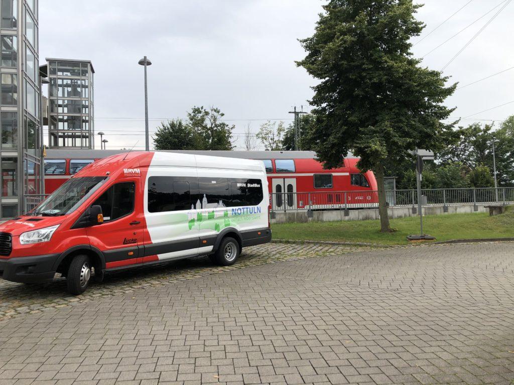 Bahnhof Bus & Zug ÖPNV